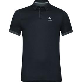 Odlo F-Dry Kurzarm Poloshirt Herren black